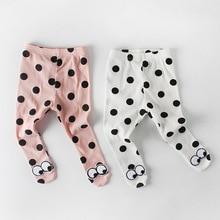 все цены на 0-2yrs Baby Girl Tights Newborn Pantyhose Big PP for Boys Knit Baby Tights Solid Print Cotton Children Stockings Kid Girls Tight