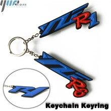 עבור YAMHAHA R6 R1 באיכות גבוהה אופנוע חדש אופנוע מפתח שרשרת אופנוע keychain keyring עבור ימאהה YZF R6 YZF R1