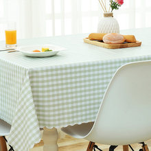 Waterproof, oilproof, anti-scalding, disposable PVC tablecloth, household rectangular tablecloth coffee table mat.