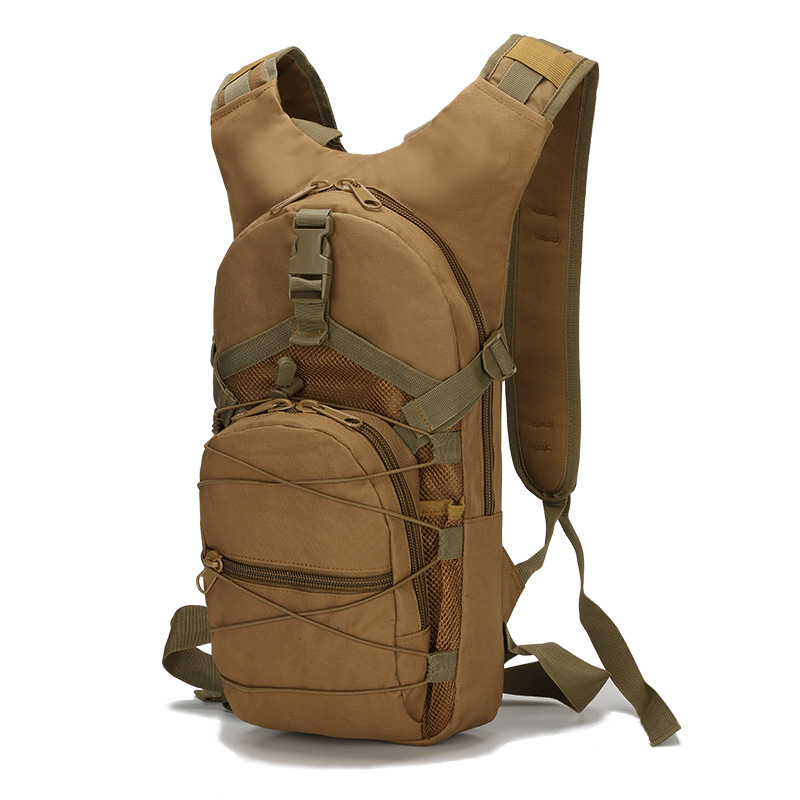 15L Waterproof Oxford Outdoor Sport Military Molle Tactical Bag Rucksack Cycling Camping Hiking Backpack 800D Bicycle Bike