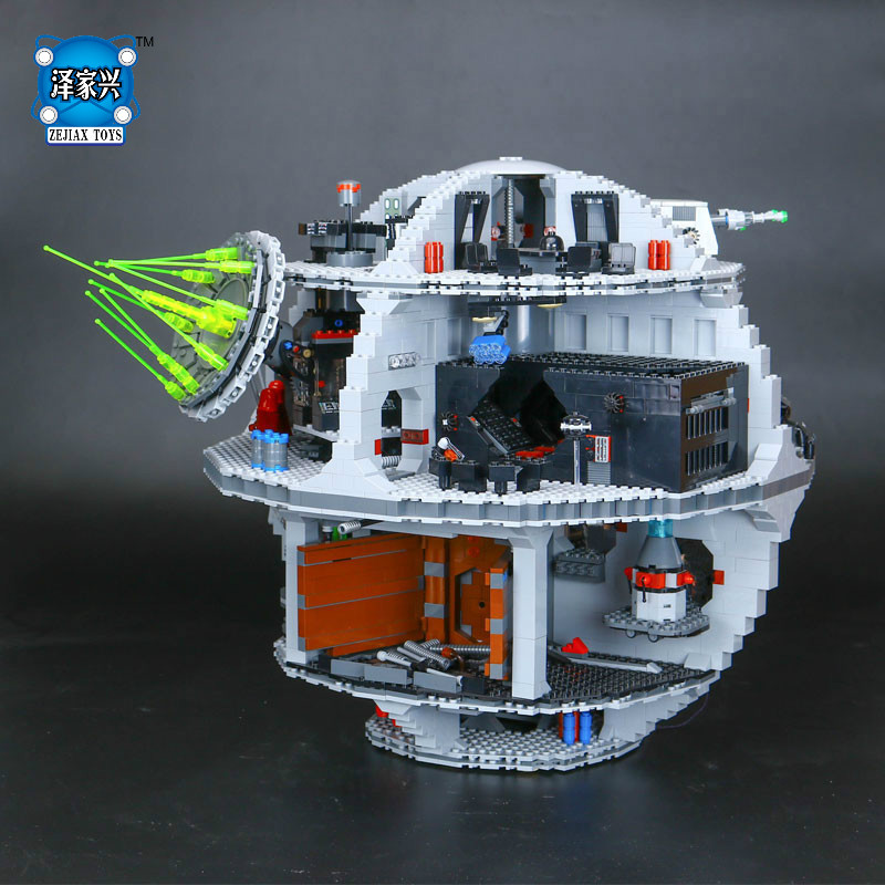4016Pcs Lepins Genuine Star UCS Death Set Star Rogue One Set War Building Blocks Bricks Figures Educational Toys Gift for Kid gonlei figures rogue one k 2so death trooper sergeant jyn erso figure toys building blocks christmas gifts lepin