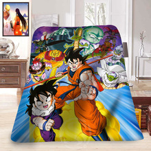 Dragon Ball Super Soft Blankets (23 colors)