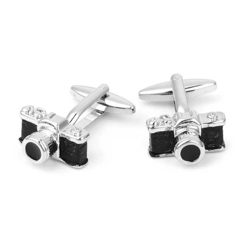 Vintage Camera Shirt Cufflinks Cuff Links Dress Wedding Party Jewelry Favor Gift