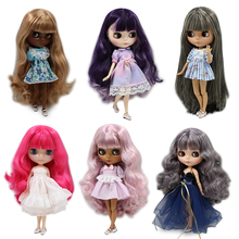 Blyth doll joint body Reborn Dolls Anime DIY Make up 30cm 1/6 nude Toys fashion ICY Doll special price Latest models