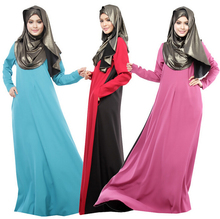 Muslim abaya hijab dress islamic clothes for women turkish clothing jilbabs and abayas muslim hijab dress WL2423