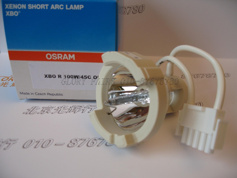 Epk-1000 Lichtquelle Spezieller Kauf 2 Stücke Osram Xbo R 100 Watt/45c Tschechische Republik Dc 100 Watt Ofr Xenon Kurze Arc Lampe Pentax Epk1000 Endoskop Licht
