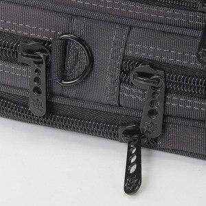 Image 3 - Nouvelle mallette daffaires pochette dordinateur Oxford tissu multifonction étanche sacs à main portefeuilles daffaires homme épaule sacs de voyage