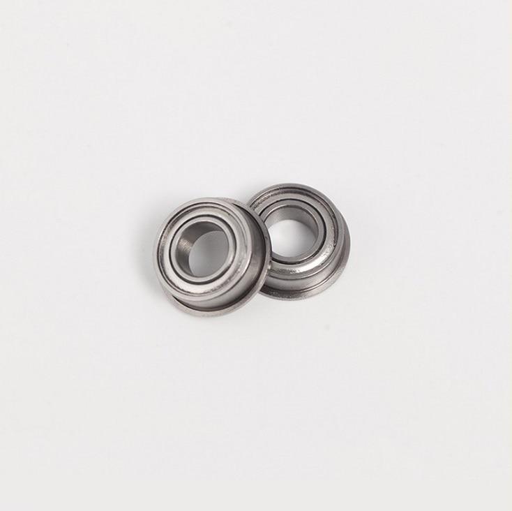 25 PCS Metal Shielded FLANGED Ball Bearing Bearings MF126z 6x12x4 mm MF126ZZ