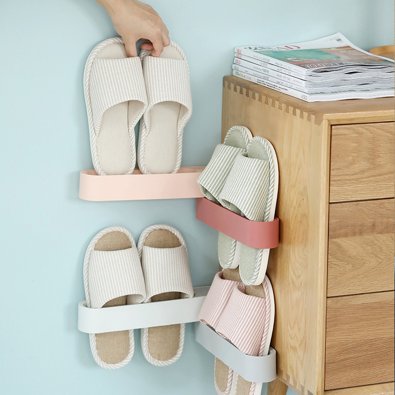 New Arrival Home Creative Plastic Shoe Shelf Stand Cabinet Display Rotation Wall Shoes Rack Storage Organizer in Shoe Racks Organizers from Home Garden