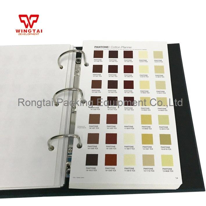 TCX Pantone Moda Casa Algodão Planejador FHIC300 Cartão Da Cor De Têxteis Do Vestuário