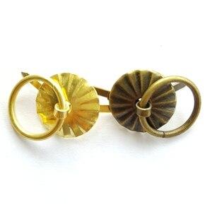 Image 4 - 50 шт. 1,9 см золотая латунная цветная металлическая ручка, маленькая оптовая продажа, маленькая жестяная коробка для ящиков, деревянная коробка, ящик для дверей, Прямая продажа с завода