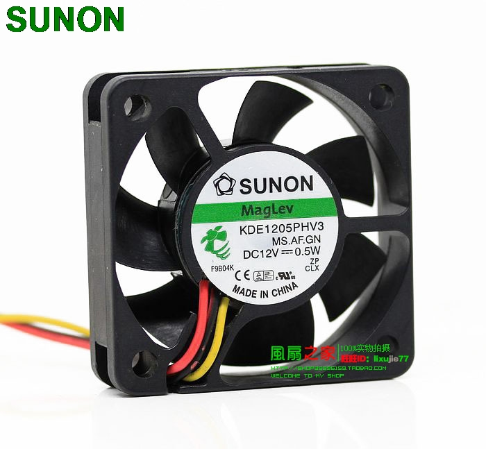 "NEW SMALL 2/"" 50MM SUNON MAGLEV KDE1205PHV3 QUIET 12V DC CAR AUDIO//COMPUTER FAN"