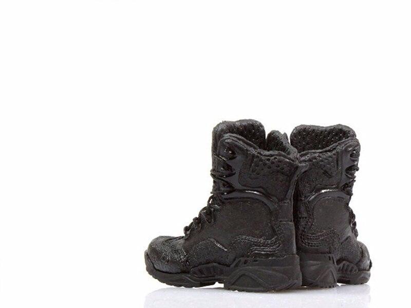"""Échelle 1//6 Bottes shoesl avec pieds pour 12/"""" mâle figurine Corps Accessoires"""