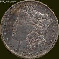 Hoa Kỳ 1904 90% Bạc Morgan One Dollar Đồng Tiền Sao Có Thể Lựa Chọn Nhiều Loại để Hãy Old Phong Cách