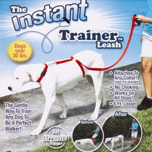 Instant Trainer Dog Leash Trains Dogs 30 Lbs Stop Pulling Tv Dogwalk Hot