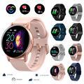 Новый фитнес-трекер женские Смарт-часы мужские Смарт-часы IP68 водонепроницаемый браслет монитор сердечного ритма спортивный браслет для ...