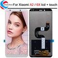 ЖК-дисплей 5,99 дюйма для Xiaomi Mi A2 MIA2, дигитайзер, сенсорный экран в сборе с рамкой для xiaomi MI 6X MI6x, ЖК-дисплей, запасные части