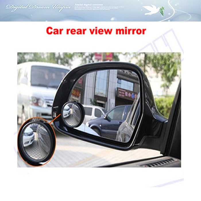 Free shipping! car dvr rear view blind spot under vehicle search 2 Side wide angle round convex auto rear view mirror good price  цены