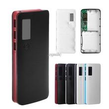 3 Ports USB 5x18650 bricolage Portable support de batterie LCD affichage housse de batterie portative boîte boîtier en gros et livraison directe