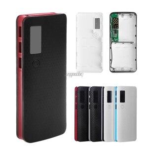 Image 1 - 3 portas usb 5x18650 diy titular da bateria portátil display lcd caso caixa de banco de potência whosale & dropship