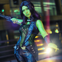 Manles Guardians Of The Galaxy Gamora Western American Movies Jumpsuit Women Sexy Cosplay Costumes Custom Made