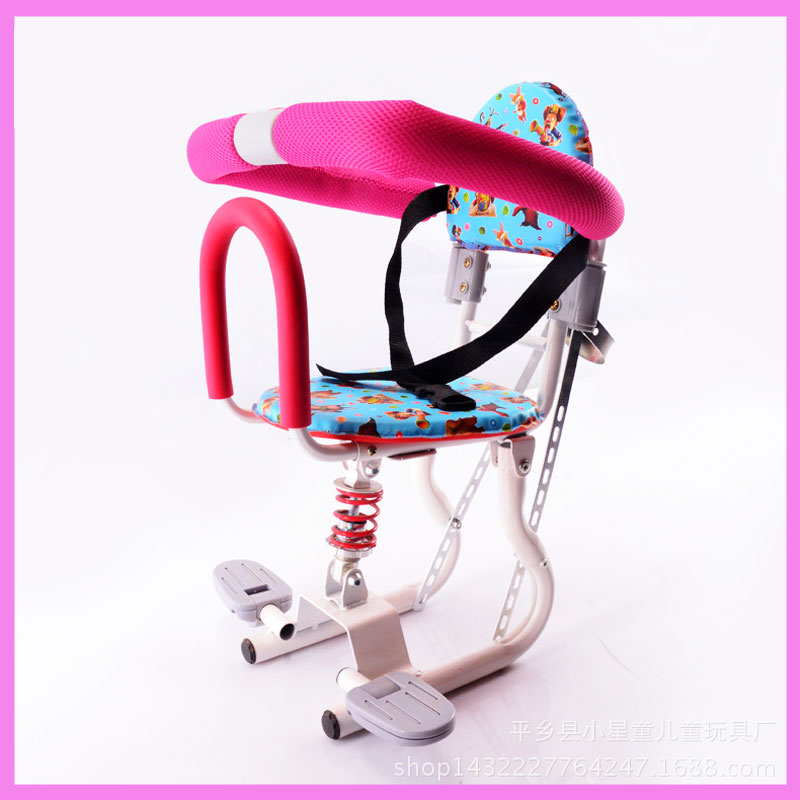 Electric Baby Motorcycle Bike Bicycle Front Seat Adjustable Spring Baby Travel Safety Seats Chair electric bicycle 72v 1000w seven generations zuma electric motorcycle green environmental protection electric vehicles tb330907