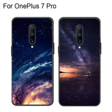 Casing For OnePlus 7 Pro Silicone Soft Shell Back Cover For OnePlus7 Pro Starry Patterned Phone Cases For One Plus 7 Pro