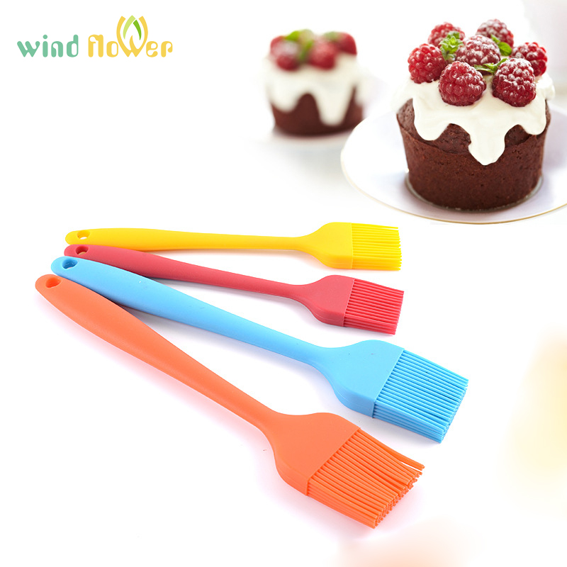 Wind flower Silicone Pastry Brushes-BBQ Cake Pastry Brushes Soft High Temperature Brush