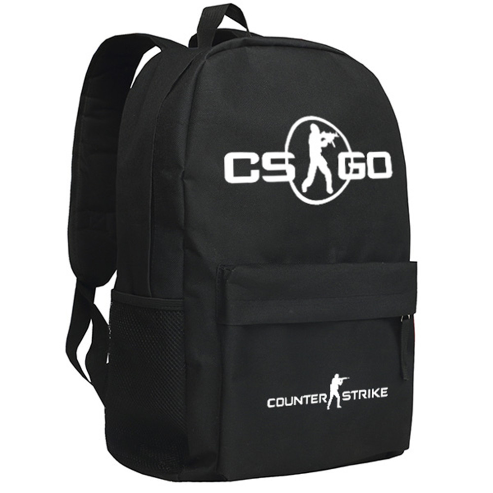 Zshop Shooting Online Game Counter Strike Backpack for Teenage Boys Birthday Gifts School Opening Schoolbag CSGO цена