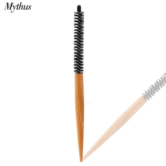 Mythus 16mm 20mm pelo cepillo redondo pelo corto estilo peine de pelo cepillo rizador de maquillaje de pelo de Peine para Hairdrerssing herramienta