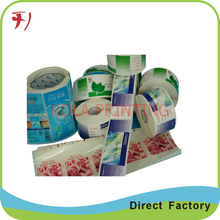 Customized Pharmaceutical & health label packing stickers medicine bottle label ginseng root sticker