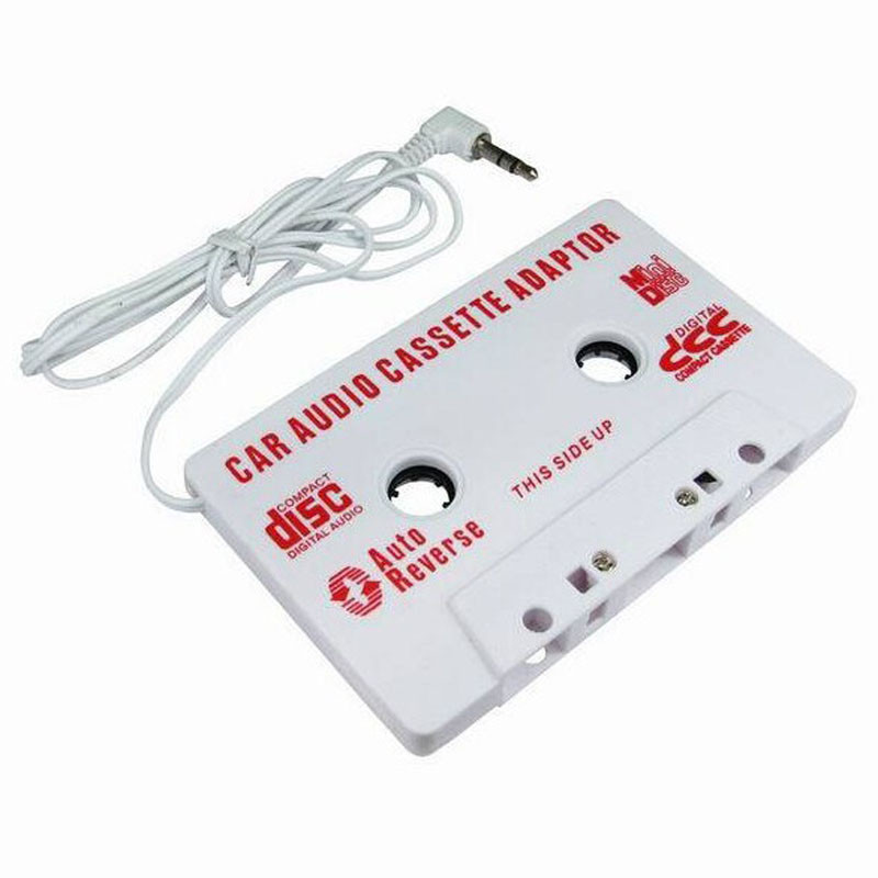 3.5mm Car Stereo Cassette Tape Adapter For iPhone For iPod MP3 Audio CD Player Drop Ship 18 Sept 28