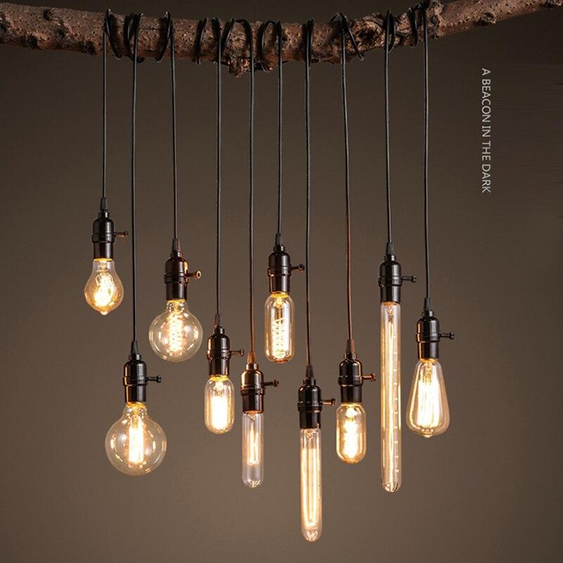 Bases da Lâmpada da lâmpada e27 edison retro Matéria-prima : Alumínio