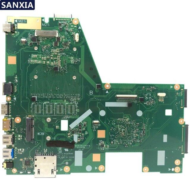 KEFU X551CA carte mère dordinateur portable pour ASUS X551CA X551CAP carte mère dorigine 100% Test I3 CPU 1xSlot