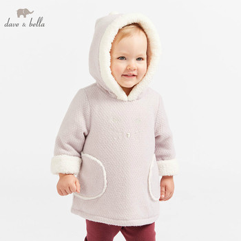 c764fe5a36ba DB8819 dave bella/хлопковая куртка для маленьких девочек Детская верхняя  одежда модное ...