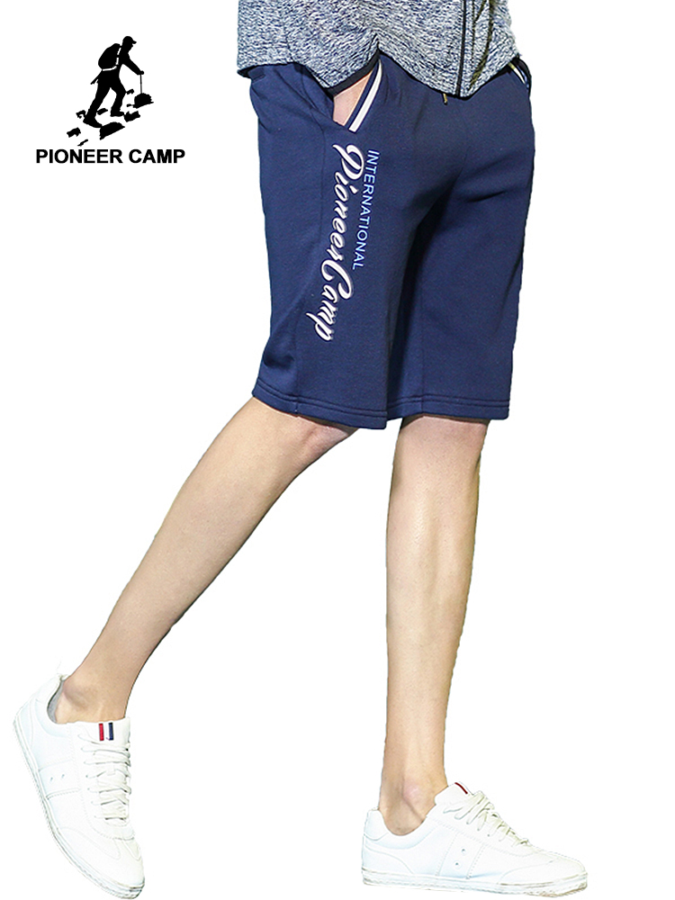 Пионерский лагерь повседневные летние мужские шорты известный бренд-одежда хлопок печатных мужские короткие бермуды шорты для мужчин ...