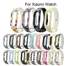 BUMVOR Silicone Replacement Strap Belt For Xiaomi Mi Band 2 Smart Wristband Bracelet Replace Accessories Mi Band 2 Straps(China)