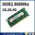 Promoción 1 gb 2 gb 4 gb ddr2 800 pc2-6400 laptop so-dimm, ddr2 800 2 gb pc2 6400 sdram portátil, dimm de memoria ram ddr2 2 gb 800 mhz