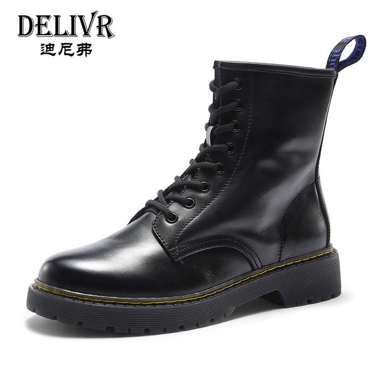 7509a94a5d Pretas Da Sapatas De À Dos Hombre Militares Prova Preto Botas Delivr  Antiderrapante Plana Zapatos 2019 Couro ...