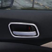 Para Honda CRV acessórios 2012-16 CR-V quadro protetor Tampa Tigela porta interior Guarnição Do Carro de aço Inoxidável Carro Styling