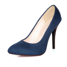 Meotina High Heels Shoes Women Pointed Toe Sexy High Heels Ladies Pumps Stiletto Blue Black Large Size 9 10