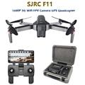 SJRC F11 GPS Drone mit 5G Wifi FPV 1080 P Kamera Bürstenlosen Quadcopter 25 minuten Flugzeit Gesture Control faltbare Eders Vs CG033