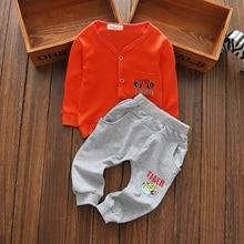 2017Fashion baby boy spring autumn clothing set 2pcs,cartoon long sleeve top + pants baby boys clothes wear 4-24Mo