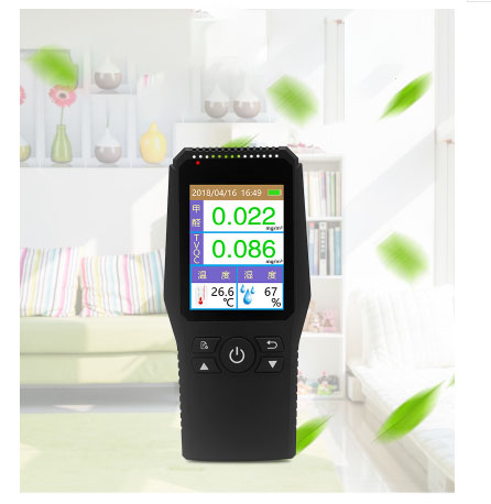 Formaldehyde Tester self test Portable professional air quality alarm temperature and humidity gas detector home Car office