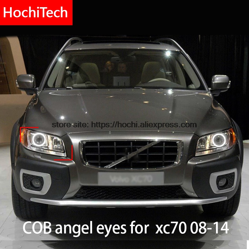 2012 Volvo Xc70: For Volvo XC70 2008 2011 2012 2014 COB Led Day Light White