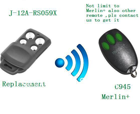 Merlin Plus c945 craw remote replacement ,Merlin Plus remote ,Merlin plus transmitter ,Merlin plus openers