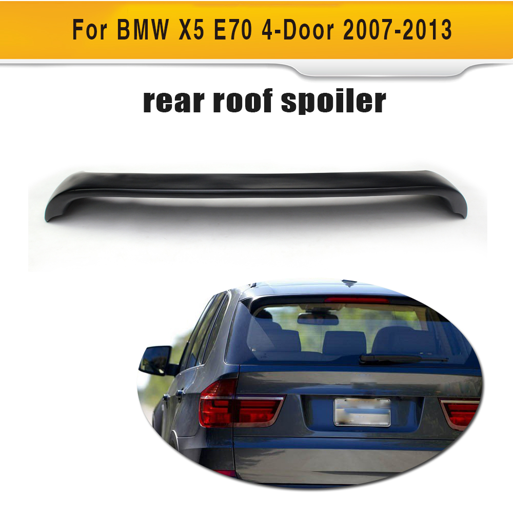 Car Rear Roof Window Spoiler Lip Wing for BMW X5 E70 4 Door 2007 - 2013 Car Styling FRP image