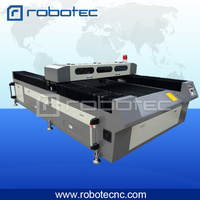 CO2 laser tube metal cutting machine 1325 with CE certificate