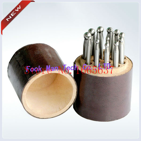 купить Hot Sale Free Shiping Dapping Block Set of 15pcs Jewelry Tool Dapping Tools Goldsmith Tool по цене 3125.9 рублей