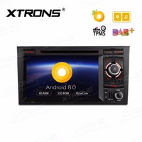 XTRONS 7'' Android 8.0 Octa Core Radio Car DVD Player GPS for Audi A4 B6 B7 S4 B7 B6 RS4 2002 2008 RS4 B7 SEAT Exeo 2008 2012